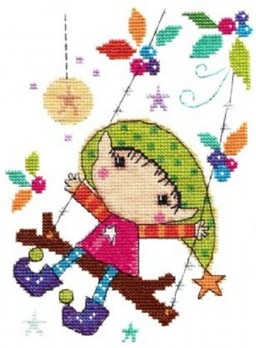 Playtime Cross Stitch Kit by The Stitching Shed